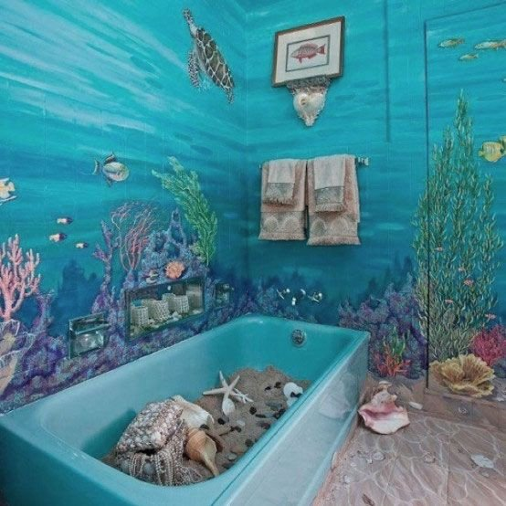 Under the Sea Bathroom Decor New Under the Sea Bathroom Bathrooms