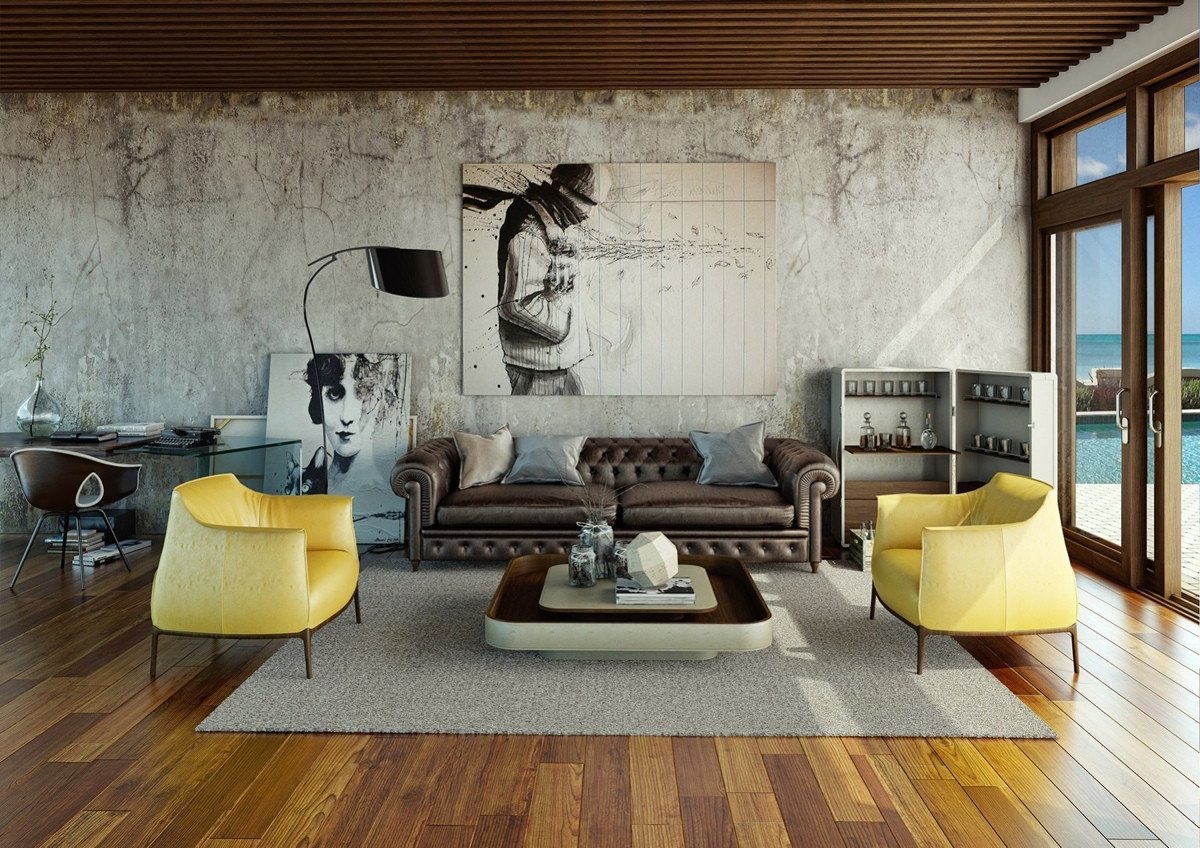 Urban Contemporary Living Room Awesome Awesomely Stylish Urban Living Rooms