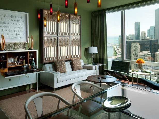 Urban Contemporary Living Room Elegant Page
