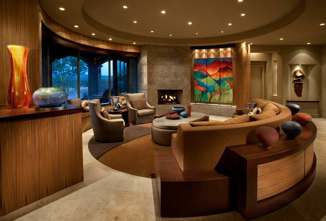 Urban Contemporary Living Room Inspirational Urban Luxury tonto Verde Contemporary Living Room Phoenix by Imi Design Llc