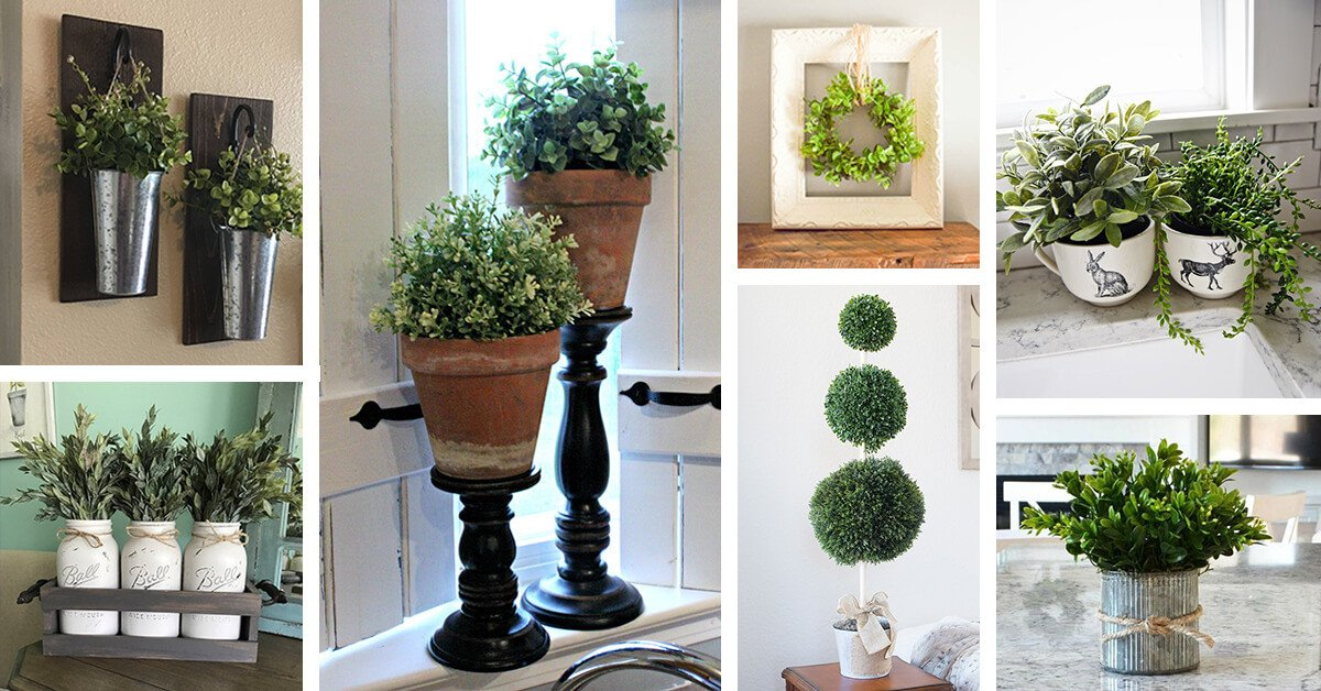 Using Plants In Home Decor Fresh 36 Best Farmhouse Plant Decor Ideas and Designs for 2019