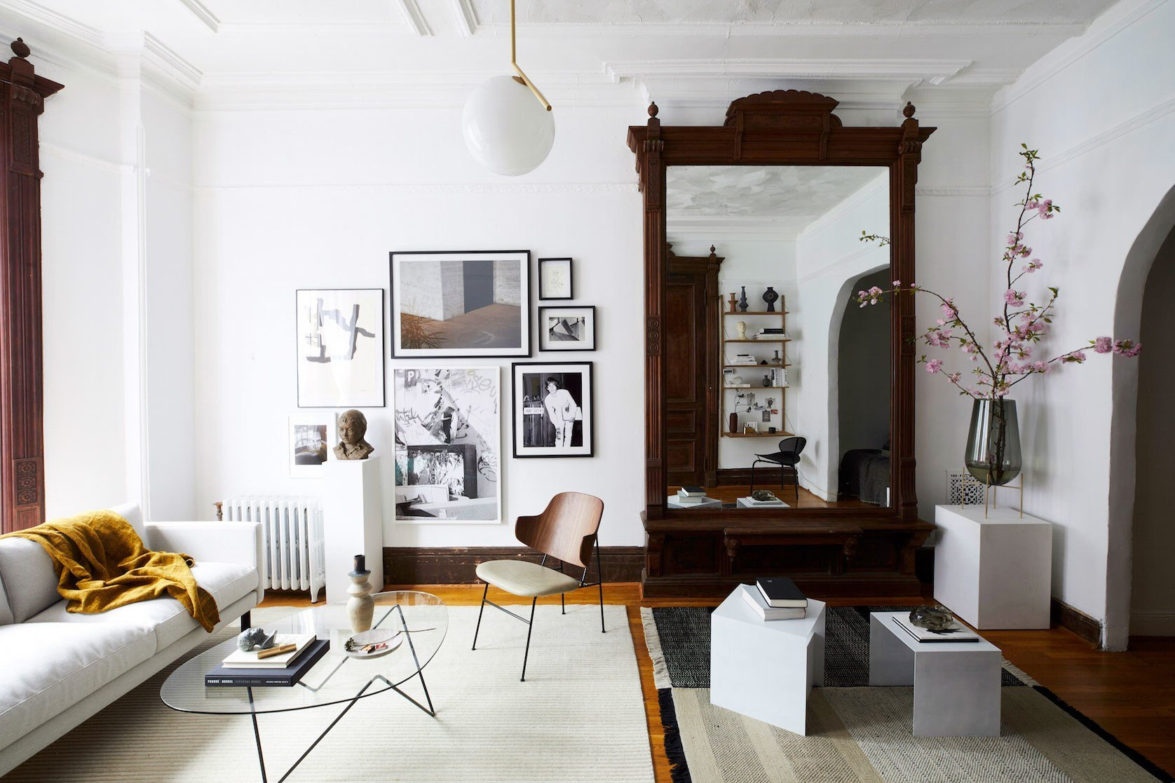 Vintage Contemporary Living Room Best Of An Architectural Brooklyn Living Room with A Modern