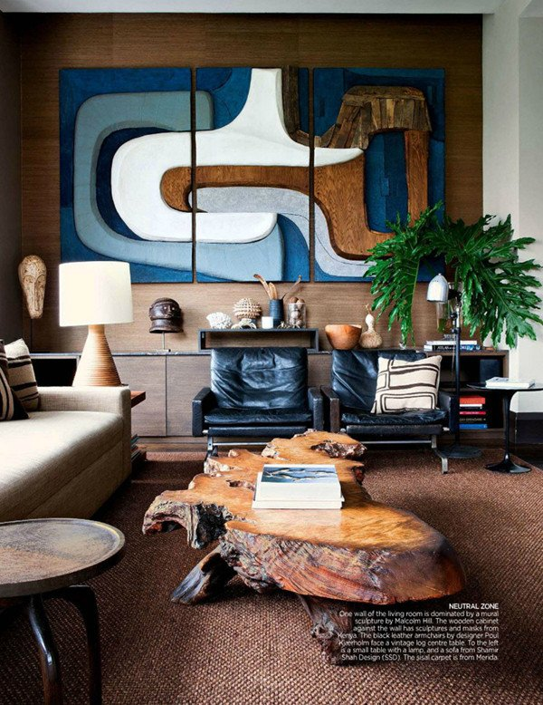 Vintage Contemporary Living Room Fresh One Room Inspiration A Masculine Vintage Study Coco