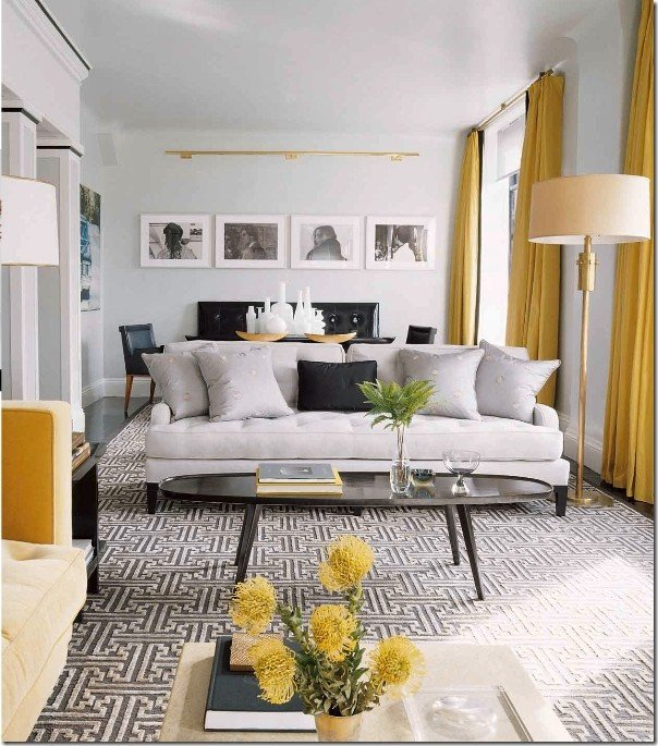 Vintage Contemporary Living Room Inspirational Contemporary Vintage Living Room Grey and Yellow