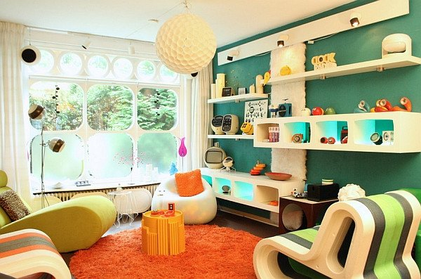Vintage Contemporary Living Room Inspirational Retro Living Room Ideas and Decor Inspirations for the