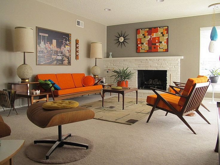 Vintage Contemporary Living Room Lovely 41 Modern Retro Living Room Hot Home Design Trends that
