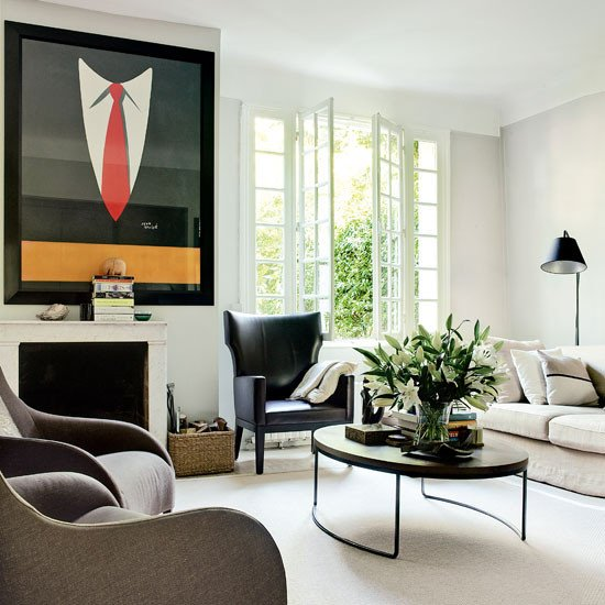 Vintage Contemporary Living Room Lovely Retro Modern Style Living Room Living Room