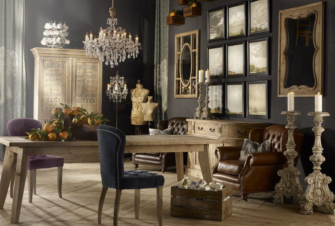 Vintage Contemporary Living Room Lovely Vintage Style Interior Design Ideas