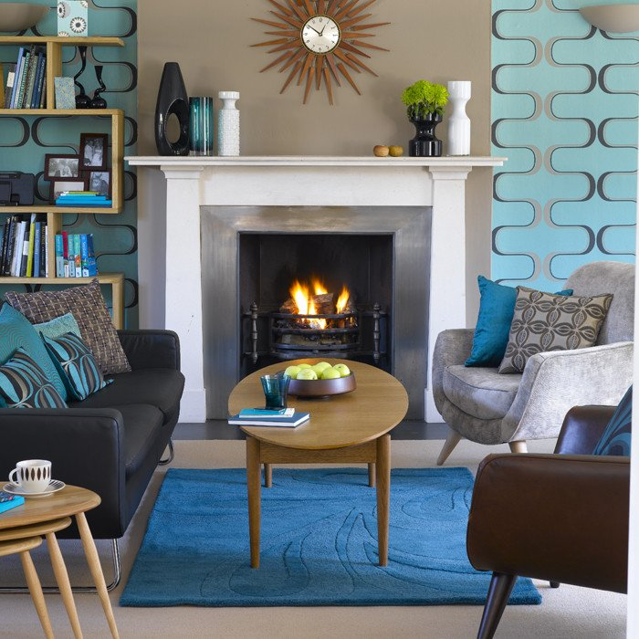 Vintage Living Room Decorating Ideas Awesome Retro Living Room Living Room Design Decorating Ideas