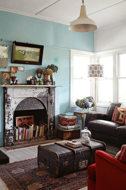 Vintage Living Room Decorating Ideas Elegant Flea Market Style town & Country Living
