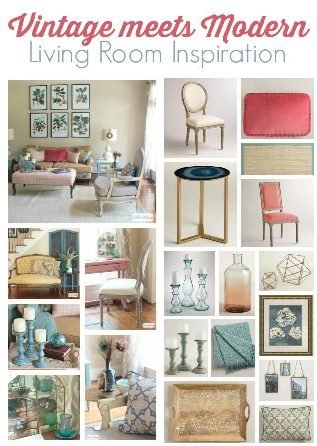 Vintage Living Room Decorating Ideas Lovely Vintage Meets Modern Living Room Decorating Ideas