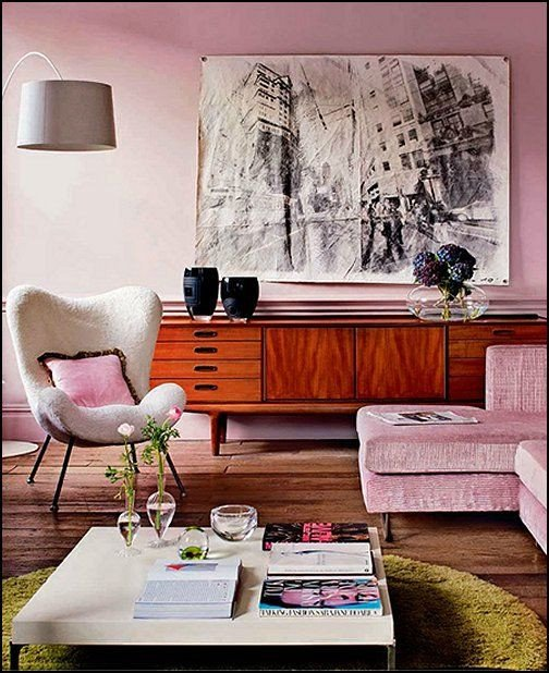 Vintage Modern Living Room Decorating Ideas Beautiful Interior Design Trends 2017 Retro Living Room