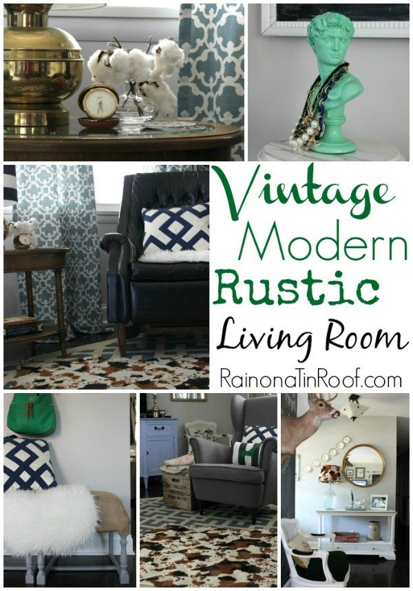 Vintage Modern Living Room Decorating Ideas Fresh Vintage Modern Rustic Living Room