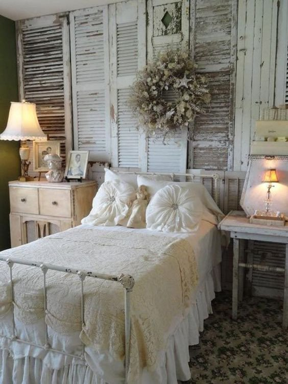 Vintage Wall Decor for Bedroom New 25 Delicate Shabby Chic Bedroom Decor Ideas Shelterness