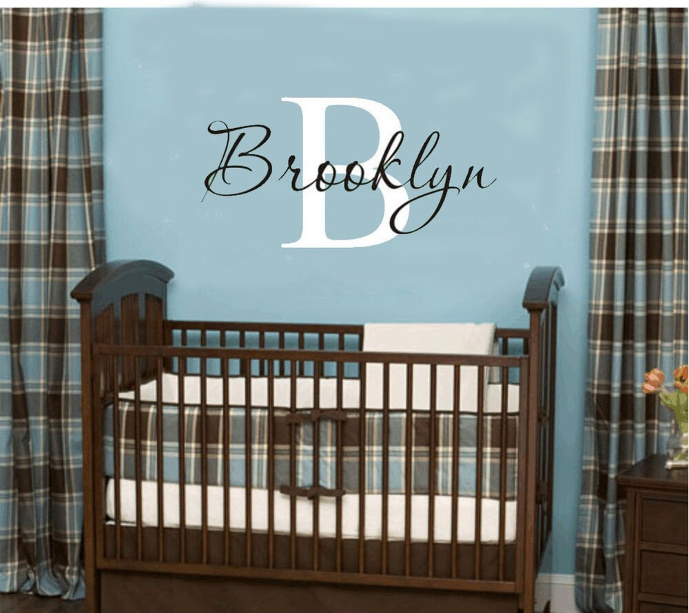 Wall Decor for Baby Room Awesome Wall Stickers Custom Baby Name Personal Vinyl Decal Decor Nursery Kid Removable