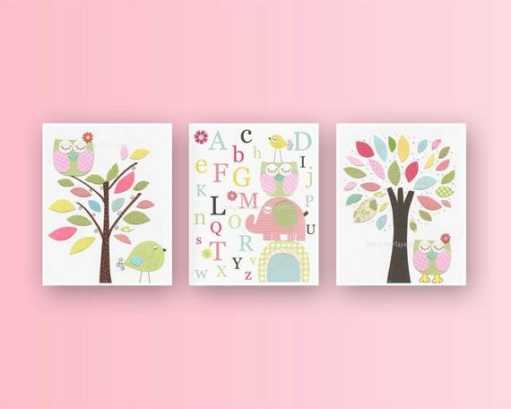 Wall Decor for Baby Room New Baby Girl Room Ideas Nursery Wall Art Print for Girls Baby