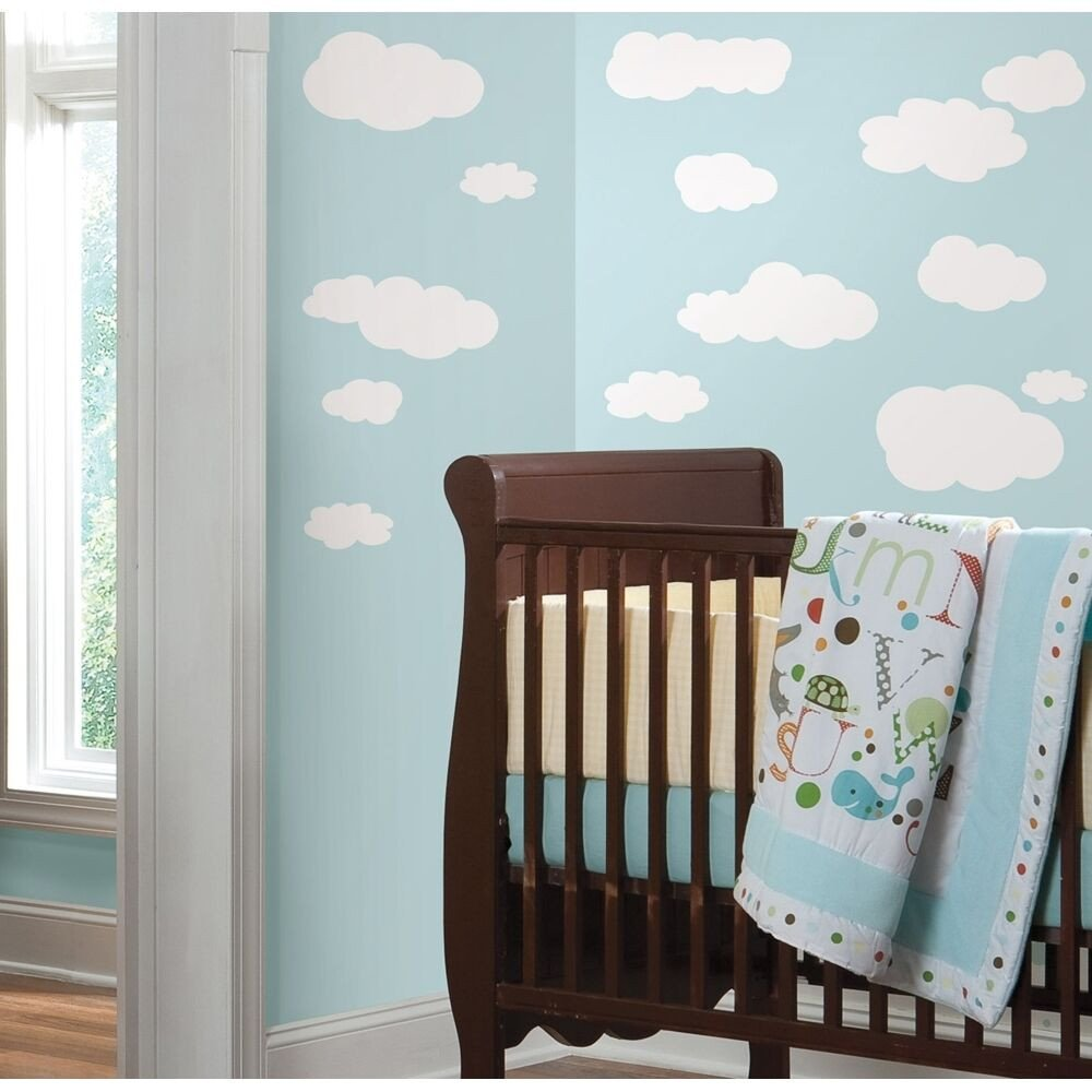 Wall Decor for Baby Rooms Elegant 19 New White Clouds Wall Decals Baby Nursery Sky Stickers Kids Room Decorations