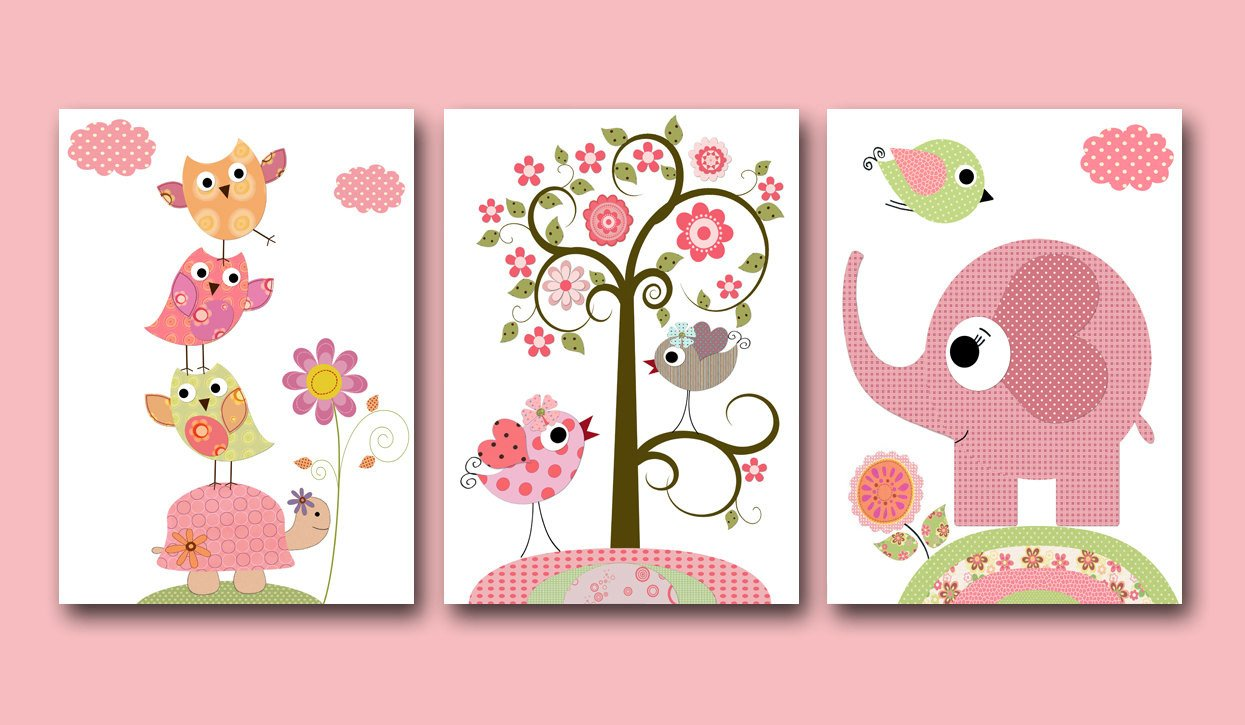 Wall Decor for Baby Rooms Fresh Baby Girl Nursery Print Baby Art Kids Wall Art Baby Girl Room