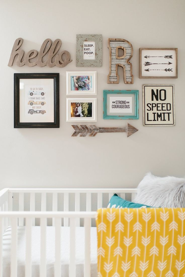 Wall Decor for Baby Rooms Inspirational 17 Best Ideas About Nursery Wall Collage On Pinterest