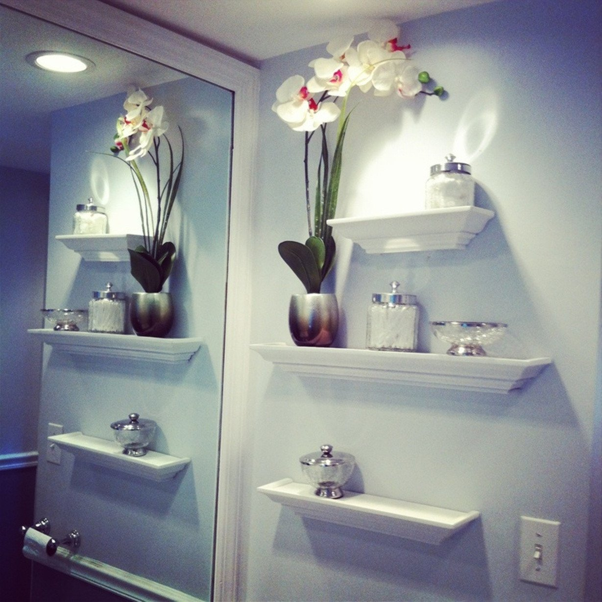 Wall Decor for Bathroom Ideas Fresh Best Bathroom Wall Shelving Idea to Adorn Your Room