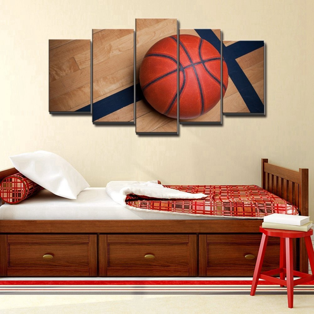 Wall Decor for Boys Room Lovely Basketball Sports Canvas Wall Art for Boys Bedroom Decor Kids Room Vintage Sports Art Baskeball