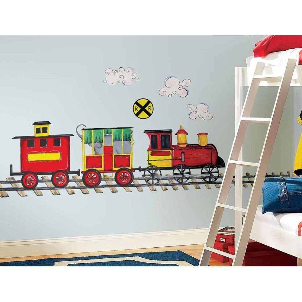 Wall Decor for Boys Room Luxury New Giant Train Wall Decal Mural Boys Room Trains Stickers Nursery Decorations
