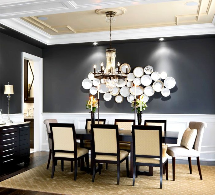 Wall Decor for Dining Rooms Unique 55 Dining Room Wall Decor Ideas Interiorzine
