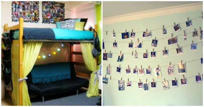 Wall Decor for Dorm Rooms Inspirational 23 Dorm Room Decor and organization Ideas