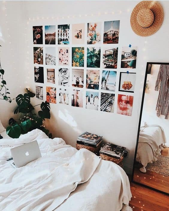 Wall Decor for Dorm Rooms New 8 Cute Gallery Wall Ideas to Copy for Your College Dorm Room by sophia Lee