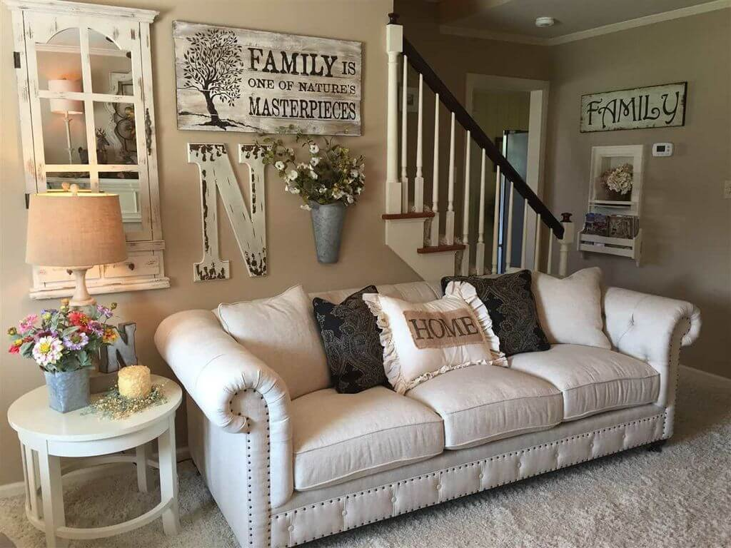 Wall Decor for Family Room Inspirational 33 Best Rustic Living Room Wall Decor Ideas and Designs