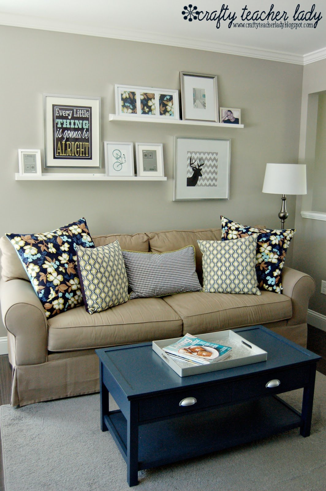 Wall Decor for Family Room Luxury Crafty Teacher Lady Coffee Table Makeover
