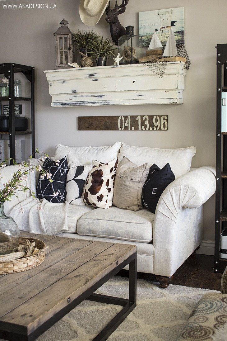 Wall Decor for Family Room New 27 Rustic Farmhouse Living Room Decor Ideas for Your Home