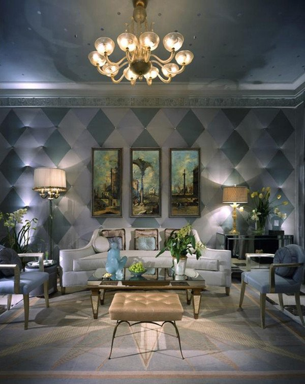 Wall Decor for Family Rooms Lovely Eye for Design Decorating with Checkerboard and Harlequin Patterns
