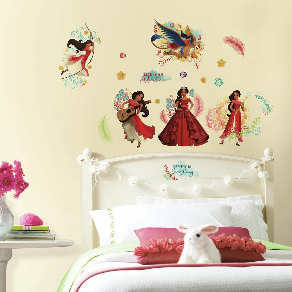 Wall Decor for Girls Bedroom Beautiful Roommates Wel Es Elena Of Avalor Wall Decals Roommates Blog