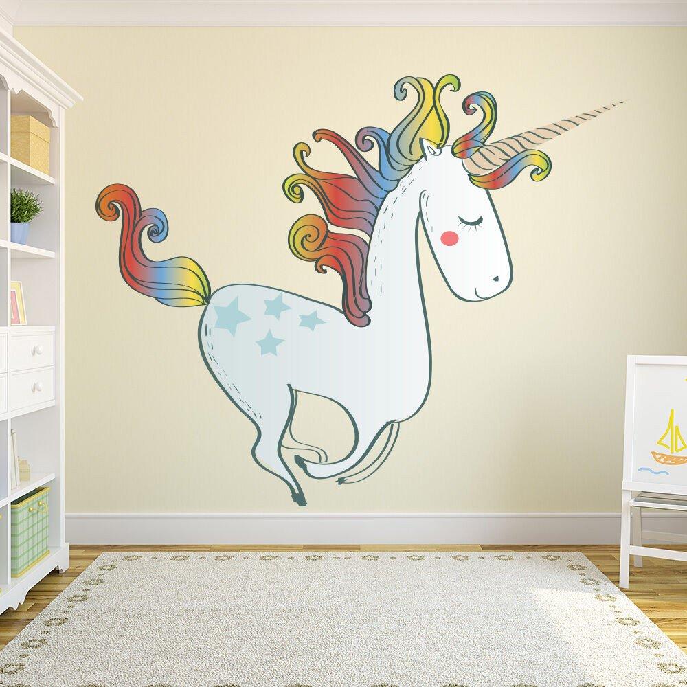 Wall Decor for Girls Bedroom Elegant Unicorn Wall Sticker Nursery Wall Decal Girls Bedroom Home Decor