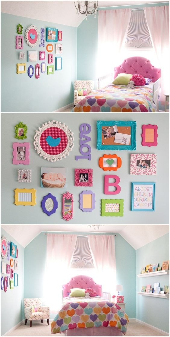 Wall Decor for Girls Bedroom Unique 20 Awesome Diy Projects to Decorate A Girl S Bedroom Hative