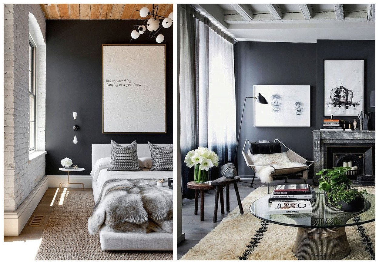 Wall Decor for Grey Walls New How to Rock Dark Grey Walls