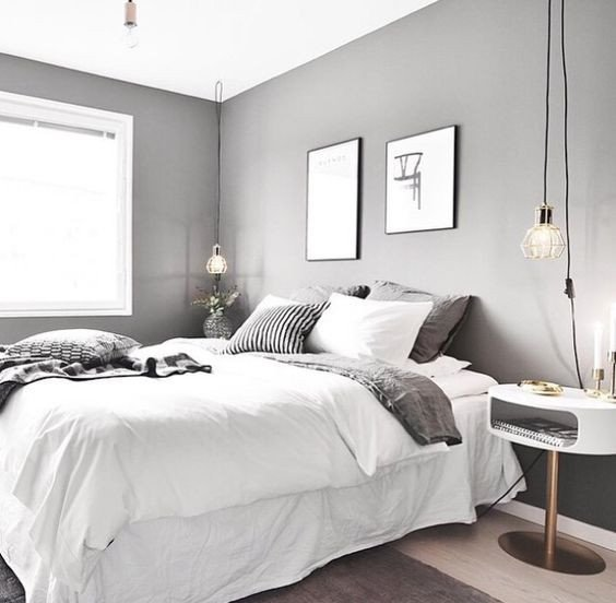 Wall Decor for Grey Walls Unique 7 Splendid Grey Bedrooms that Will Make You Dream About This Room Daily Dream Decor