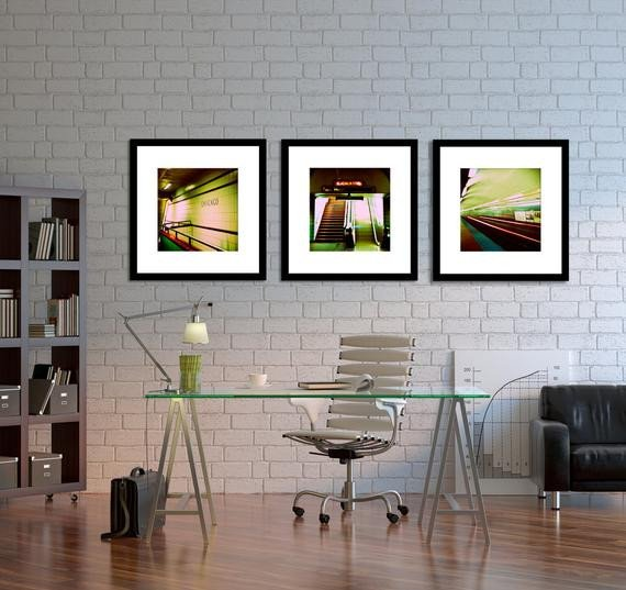 Wall Decor for Home Office Beautiful Chicago Graphy Home Decor Chicago Subway Wall Art