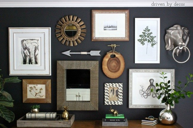 Wall Decor for Home Office Best Of My Home Fice Gallery Wall Reveal & Tips Driven by Decor