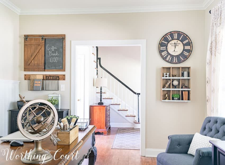 Wall Decor for Home Office Fresh the Evolution A Farmhouse Style Home Fice before and after Worthing Court