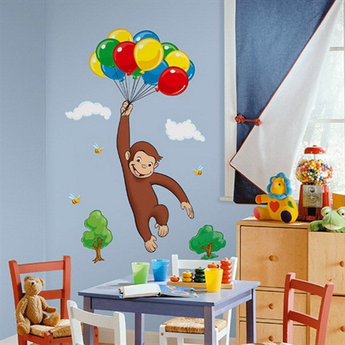 Wall Decor for Kids Room Awesome 22 Cool Bedroom Wall Stickers for Kids Interior Design Inspirations