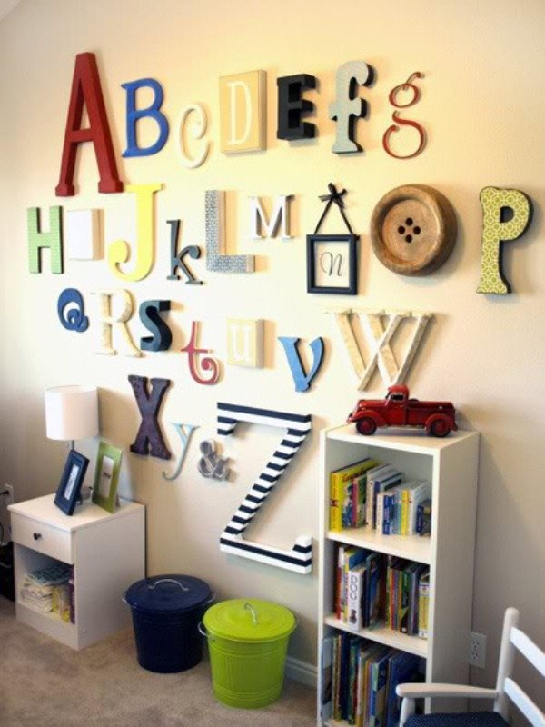 Wall Decor for Kids Room Elegant 16 original Wall Decor Ideas for Kids' Rooms