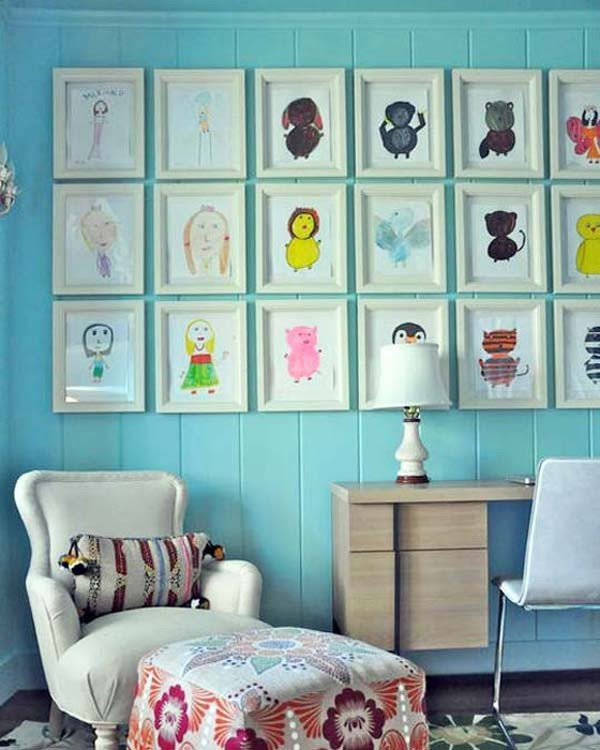 Wall Decor for Kids Room Fresh top 28 Most Adorable Diy Wall Art Projects for Kids Room