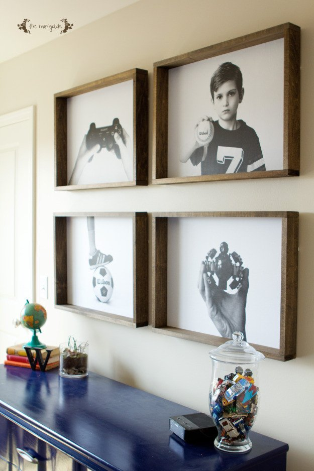 Wall Decor for Large Wall Beautiful Remodelaholic