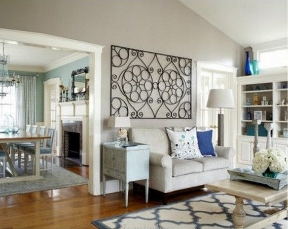 Wall Decor for Living Room Elegant Wrought Iron Wall Decor Adds Elegance to Your Home