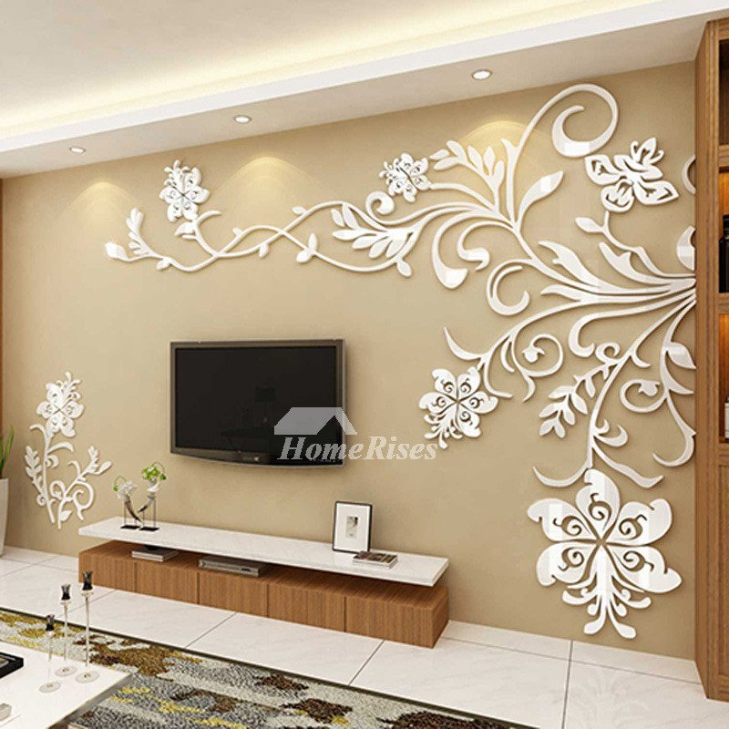 Wall Decor for Living Room Inspirational Living Room Wall Decor 3d Acrylic Modern Bedroom Unique