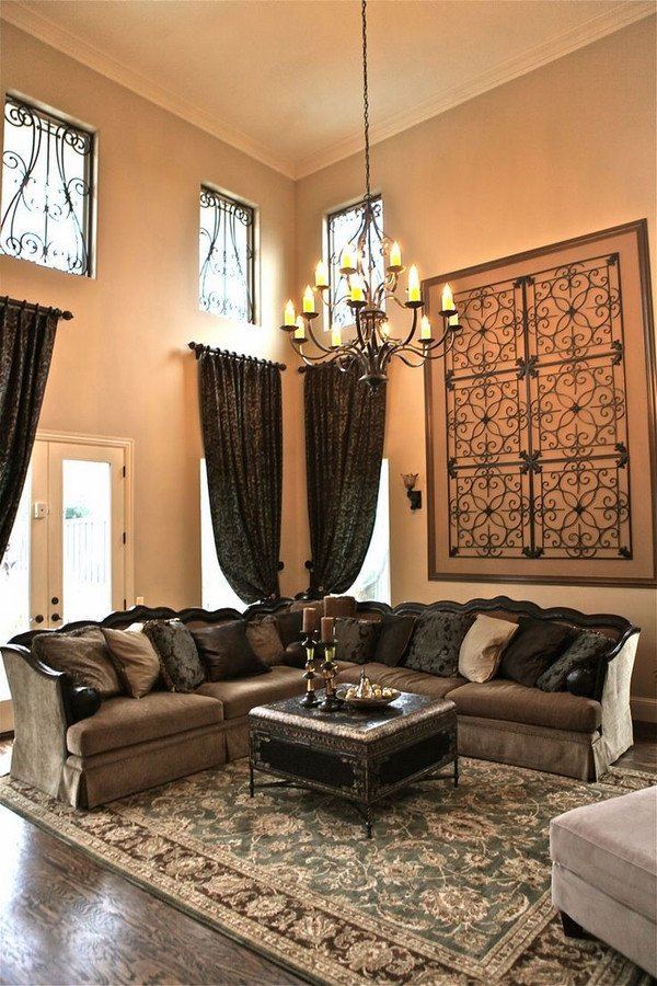 Wall Decor for Living Room New Wrought Iron Wall Decor Adds Elegance to Your Home
