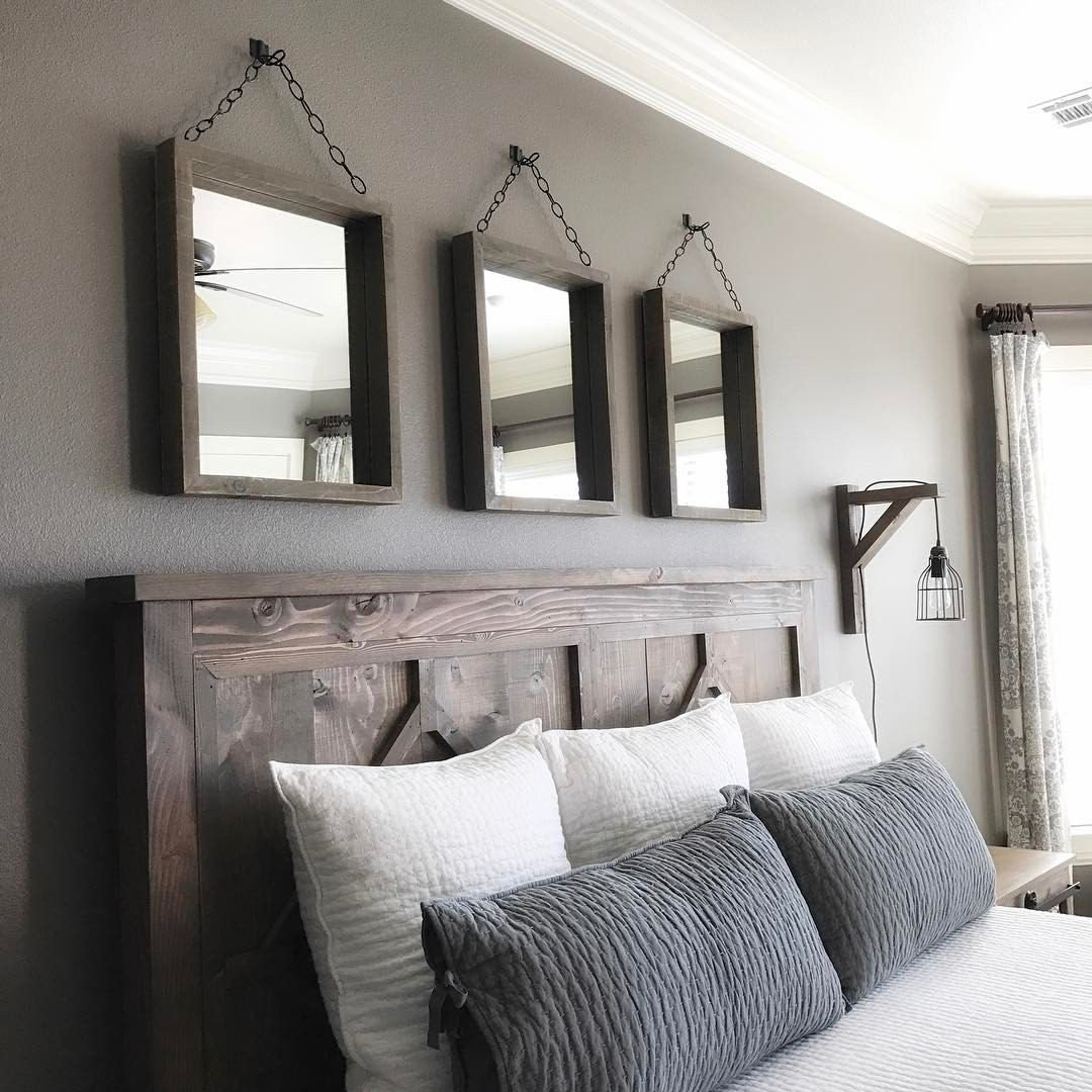 Wall Decor for Master Bedroom New Love This Master Bedroom ️ ️ Shanty S Tutorials Pinterest