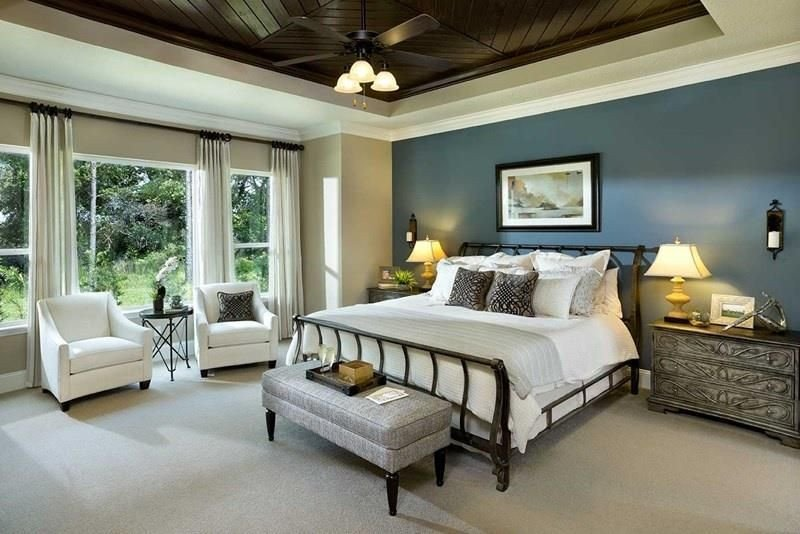Wall Decor for Master Bedrooms Lovely Blue Board N Batten Bed Wall Other Walls Tan W Wood Center Ceiling Fire Master